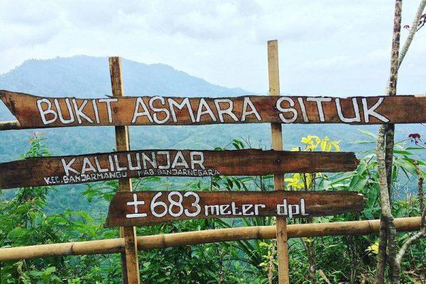 Indahnya Bukit Asmara Situk Banjarnegara