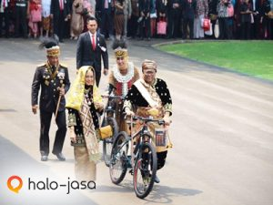 Bersepeda, contoh budaya lawas dalam modernisasi