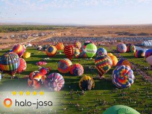 Keren, Festival Balon Udara jadi budaya modern