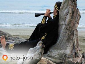 Inikah gambar alat musik daerah paling mistis di Indonesia?